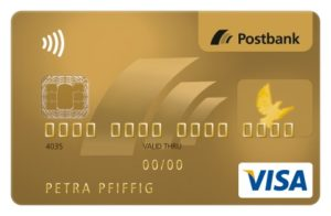 VISA Card Gold,