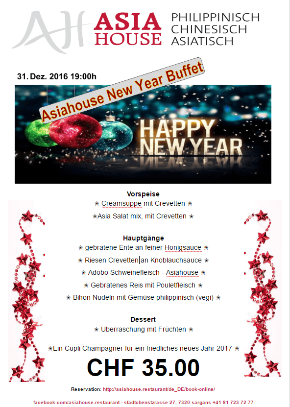 Happy New Year - Asiahouse Buffet