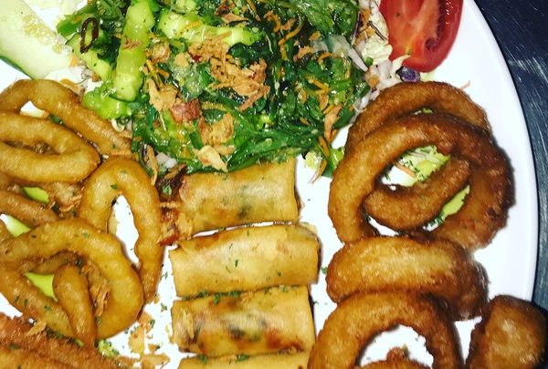ASIA Plate incl. Salad